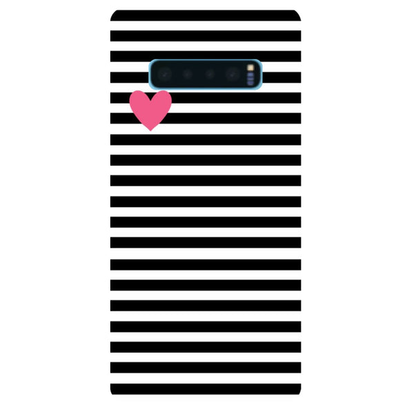 Stripes Samsung Galaxy S10 Back Cover-Hamee India