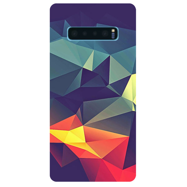 Geometric Samsung Galaxy S10 Back Cover-Hamee India