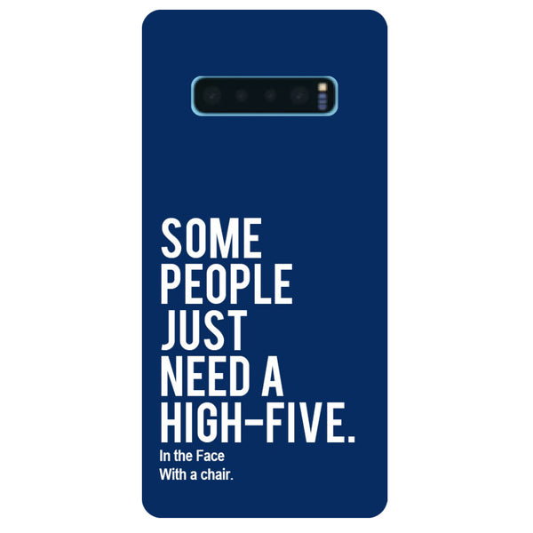 High Five Samsung Galaxy S10 Back Cover-Hamee India