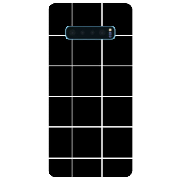 Checks Samsung Galaxy S10 Back Cover-Hamee India
