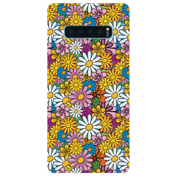 Colourful Flowers Samsung Galaxy S10 Back Cover-Hamee India