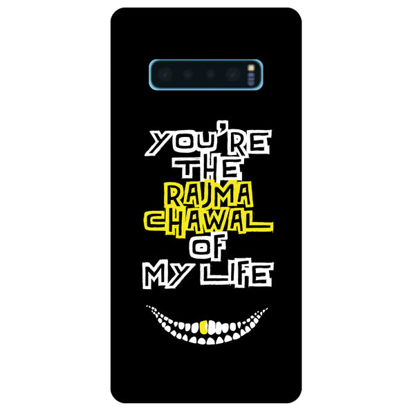 Rajma Chawal Samsung Galaxy S10 Back Cover-Hamee India