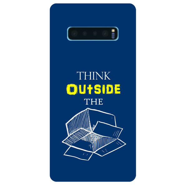 Think Samsung Galaxy S10 Back Cover-Hamee India