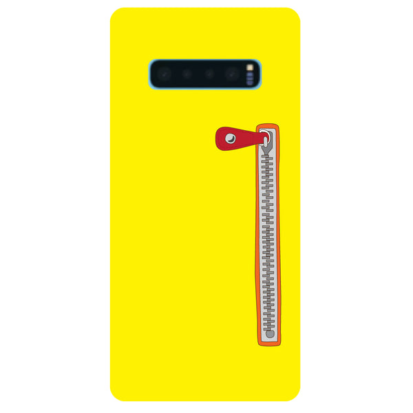 Zip Samsung Galaxy S10 Back Cover-Hamee India