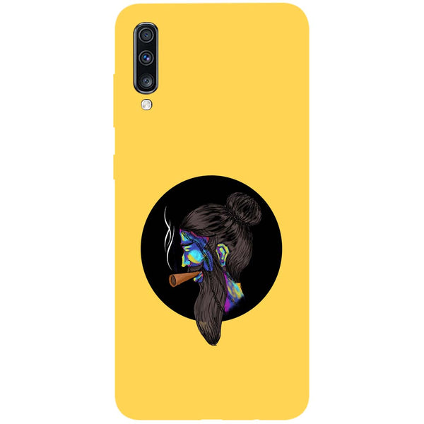 Bright Beard Samsung Galaxy A70 Back Cover-Hamee India