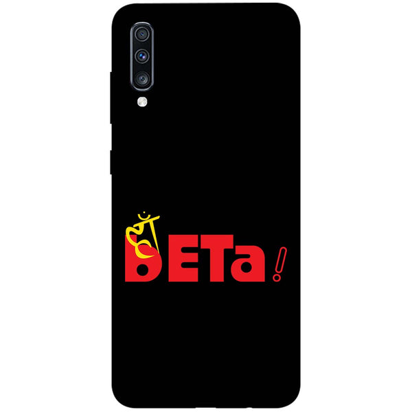Haan Beta Samsung Galaxy A70 Back Cover-Hamee India