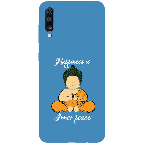 Inner Peace Samsung Galaxy A70 Back Cover-Hamee India