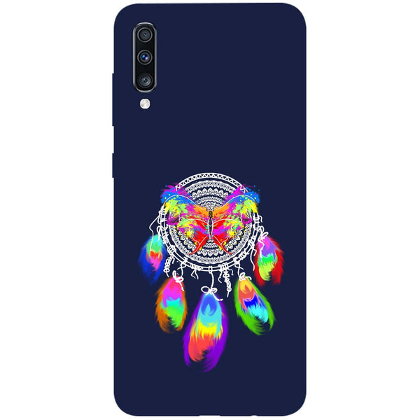 Butterfly Dreamcatcher Samsung Galaxy A70 Back Cover-Hamee India