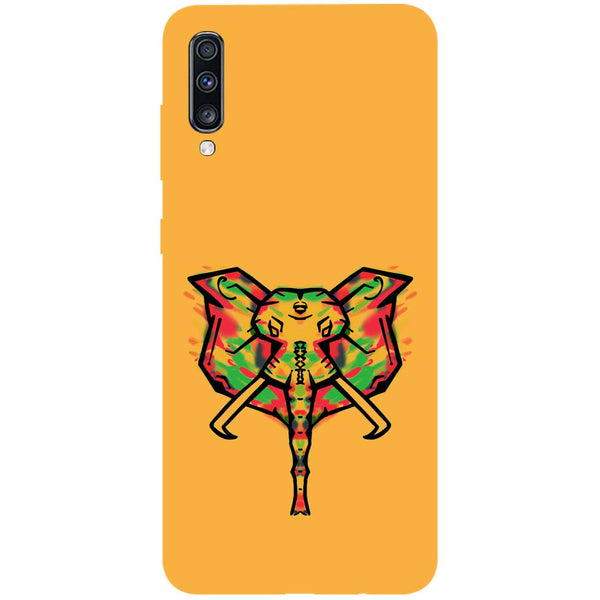 Elephant Blast Samsung Galaxy A70 Back Cover-Hamee India
