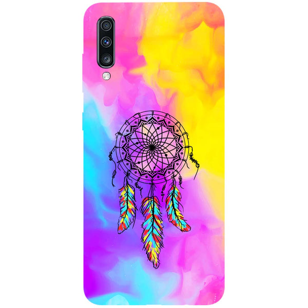 Dreamer Mist Samsung Galaxy A70 Back Cover-Hamee India
