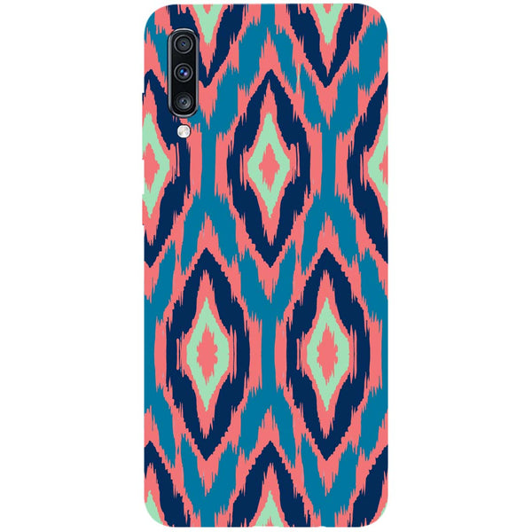 Ikat Samsung Galaxy A70 Back Cover-Hamee India