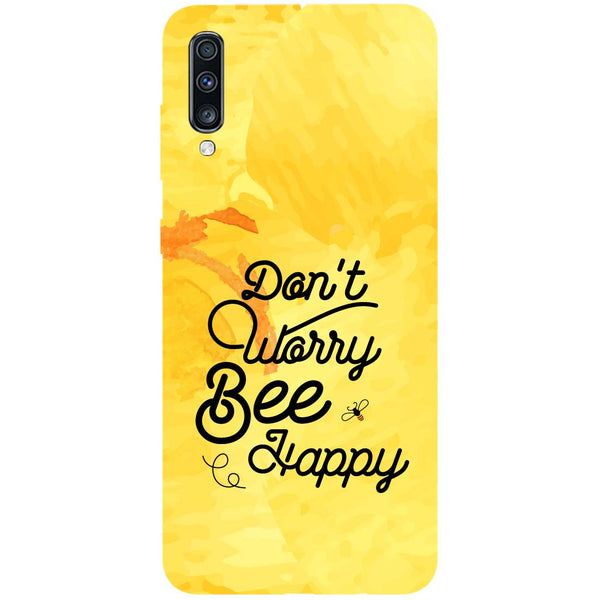 Bee Happy Samsung Galaxy A70 Back Cover-Hamee India