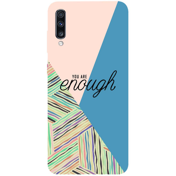 Enough Samsung Galaxy A70 Back Cover-Hamee India