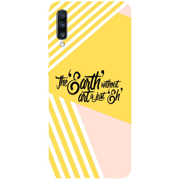 Earth Art Samsung Galaxy A70 Back Cover-Hamee India