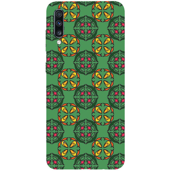 Ethnic Motif Samsung Galaxy A70 Back Cover-Hamee India