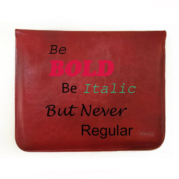 Be Bold - Tablet Case for iBall Slide Mania (8 inch)-Hamee India