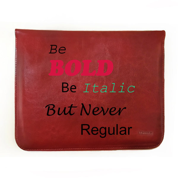 "Hamee Tan Brown Leather Tablet Case for Samsung Tab A SM-T355YZAAINS Tablet (8 inch) ""Be Bold"""