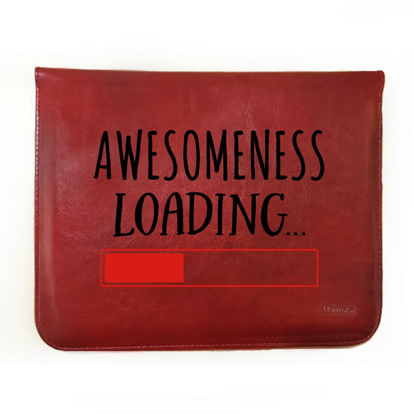 "Awesomeness Loading  - Tab Case for Fusion5 9.6"" 4G Tablet PC"