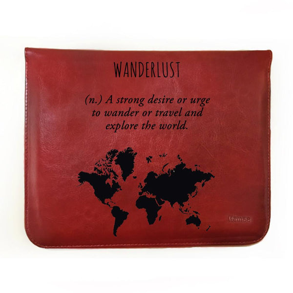Wanderlust Kindle Oasis Tablet Cover-Hamee India