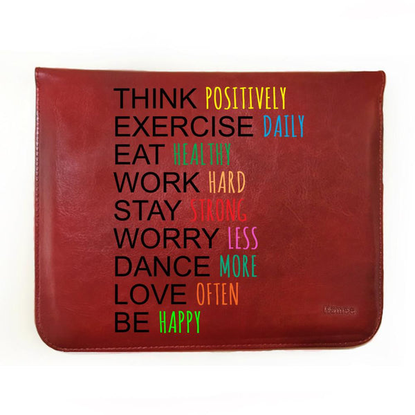 Inspiring Goals - 8 inch Tablet Sleeve-Hamee India