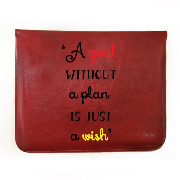 Inspiring Quote - Tablet Case for One by Wacom CTL 472/K0-CX (small)-Hamee India