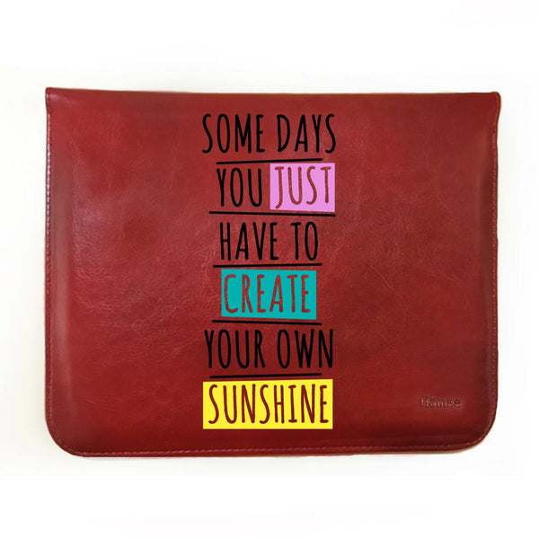 Create Your Own Sunshine - Tablet Case for iBall Slide Mania (8 inch)-Hamee India