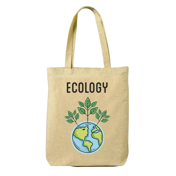 Ecology Canvas Shopping Tote Bag-Hamee India