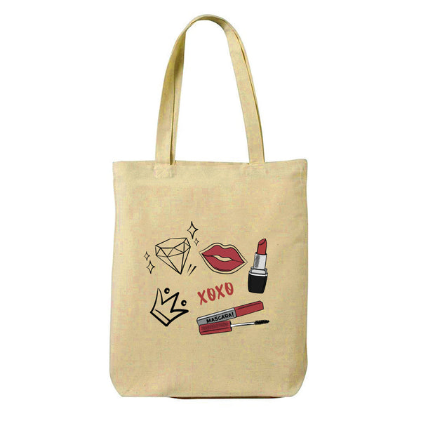 Beauty Canvas Shopping Tote Bag-Hamee India