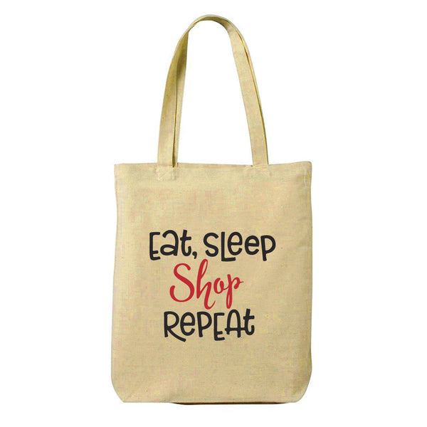 Shop Repeat Canvas Shopping Tote Bag-Hamee India