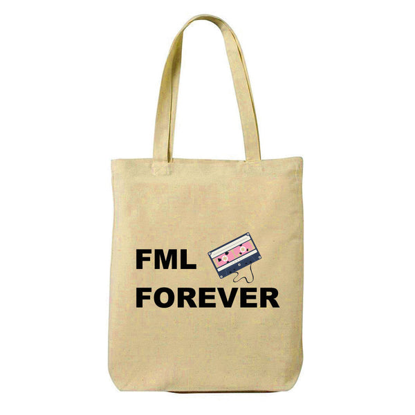 Forever Canvas Shopping Tote Bag-Hamee India