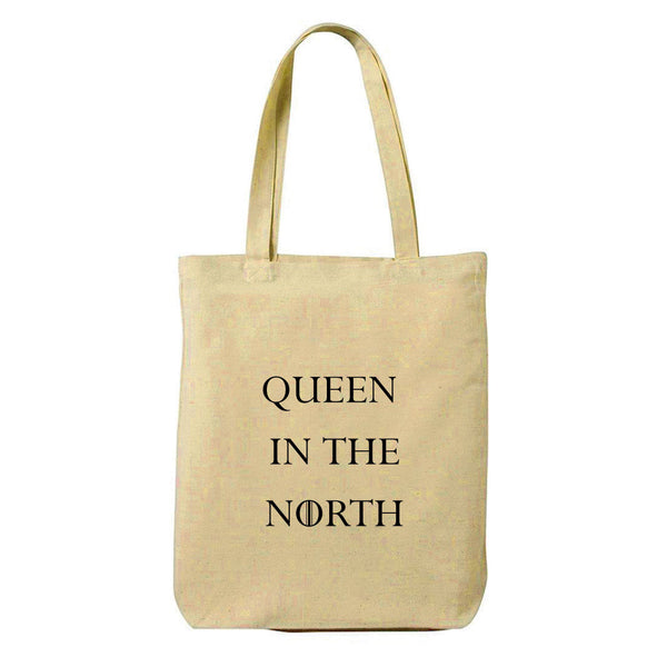 Queen Canvas Shopping Tote Bag-Hamee India