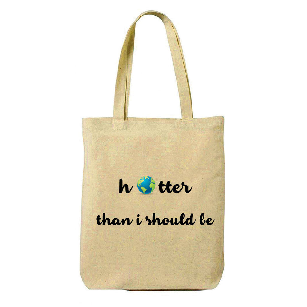 Hotter Canvas Shopping Tote Bag-Hamee India