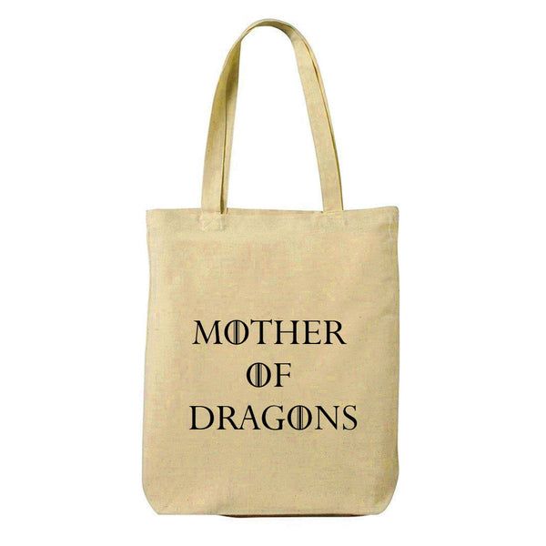 Mother of Dragons Canvas Shopping Tote Bag-Hamee India
