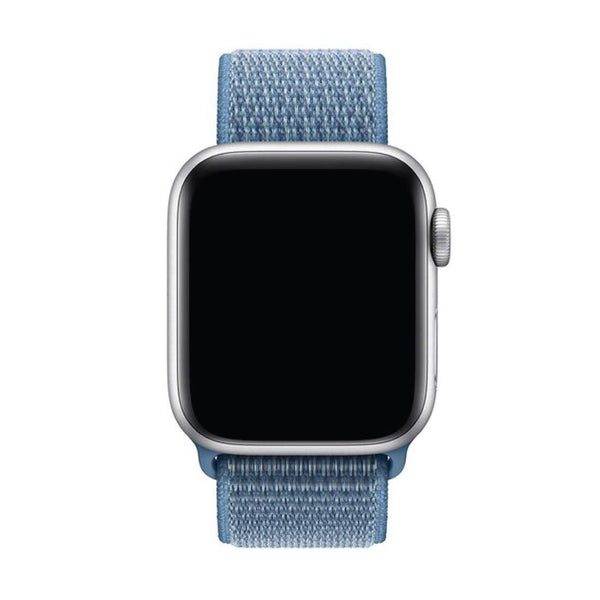 Teal Nylon Velcro Band Strap - Apple Watch Series 5/4/3 (44mm/42mm)
