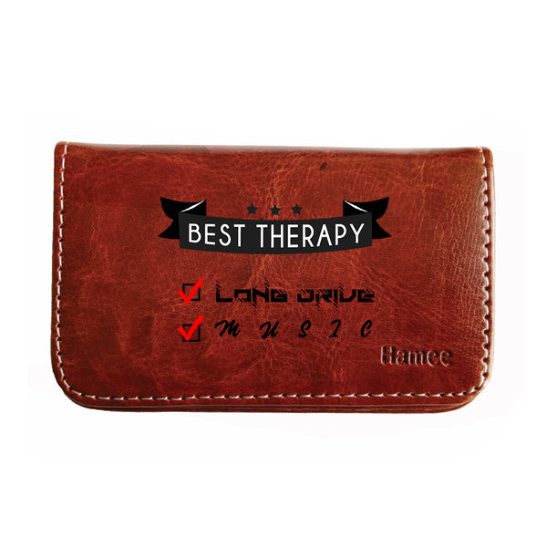 Best Therapy Business / Visiting Card Holder-Hamee India