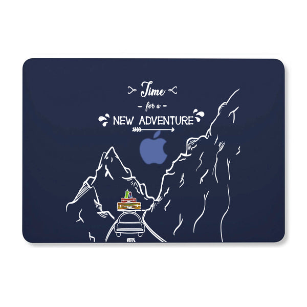 "New Adventure Navy Blue MacBook Air 13"" Retina (2018) Cover-Hamee India"