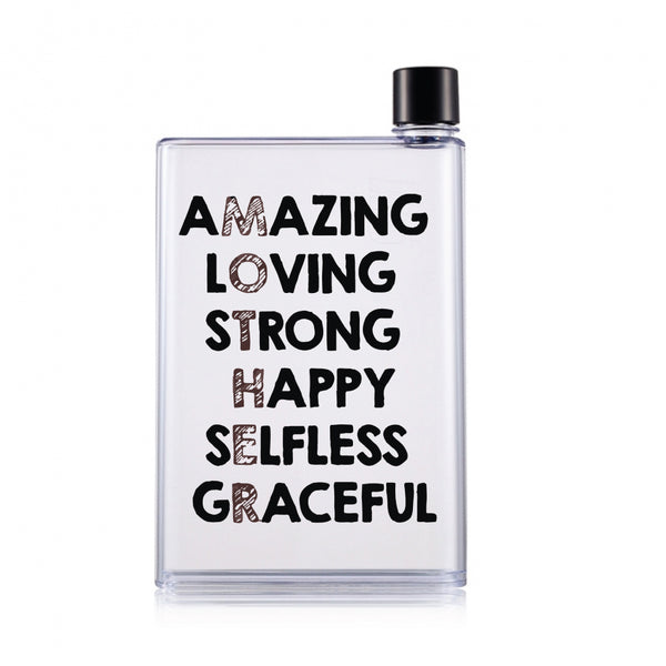 Mother's day Clear Water Bottle (420 ml)- Amazing Mom-Hamee India