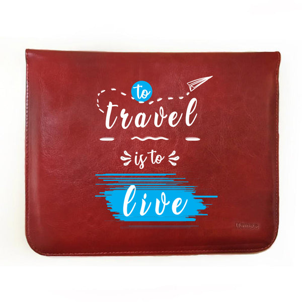 "Travel Live 11"" Tablet Sleeve-Hamee India"