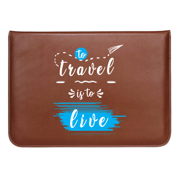"Travel Live MacBook Sleeve 13.3""-Hamee India"