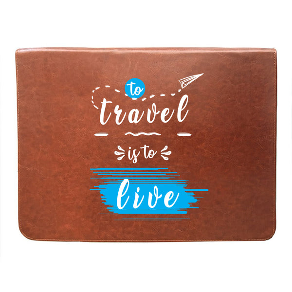 Travel Live 14 inch Laptop Sleeve-Hamee India