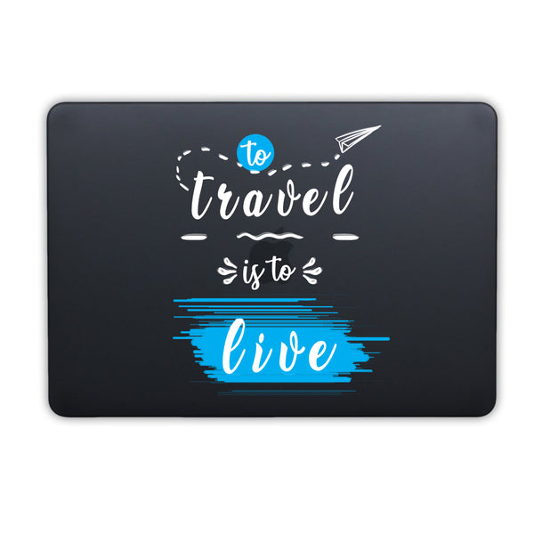 "Travel Live MacBook Air 13"" Retina (2018) Cover-Hamee India"