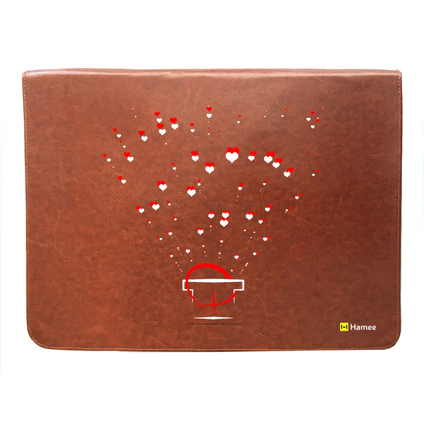 Heart Splash 14 inch Laptop Sleeve-Hamee India