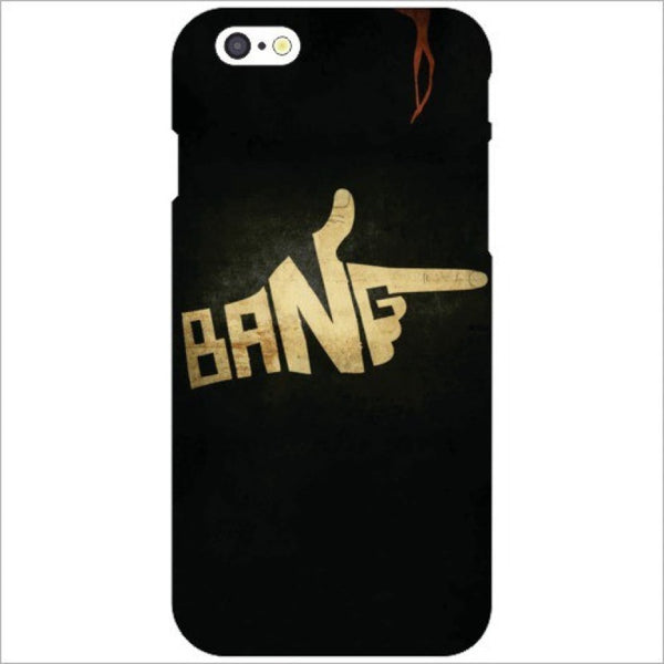 "Hamee Back Cover for Oppo F1s "" Bang "" - Hamee India"
