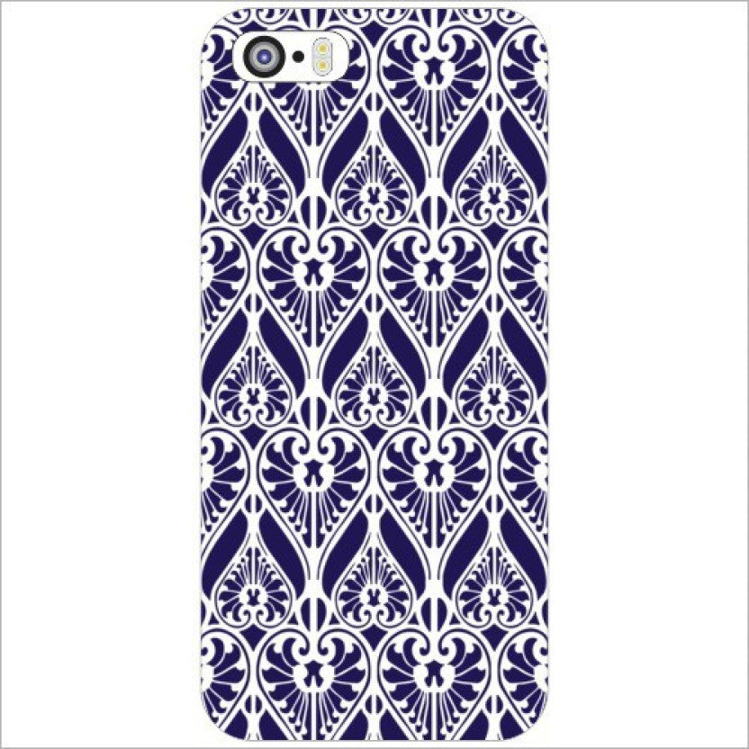 "Hamee Back Cover for iPhone 5 / 5S / SE / 5SE "" Blue Heart Design "" - Hamee India"