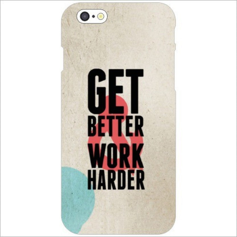 "Hamee Back Cover for VIVO V3 Max "" Work Hard Play Hard "" - Hamee India"