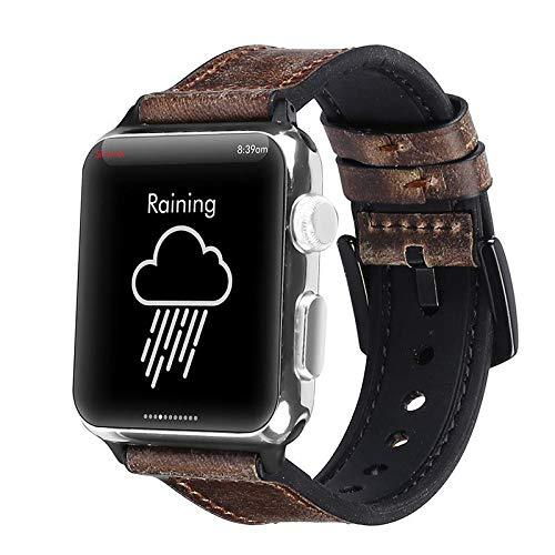 Brown Vintage Leather Band Strap - Apple Watch Series 5/4/3 (44mm/42mm)