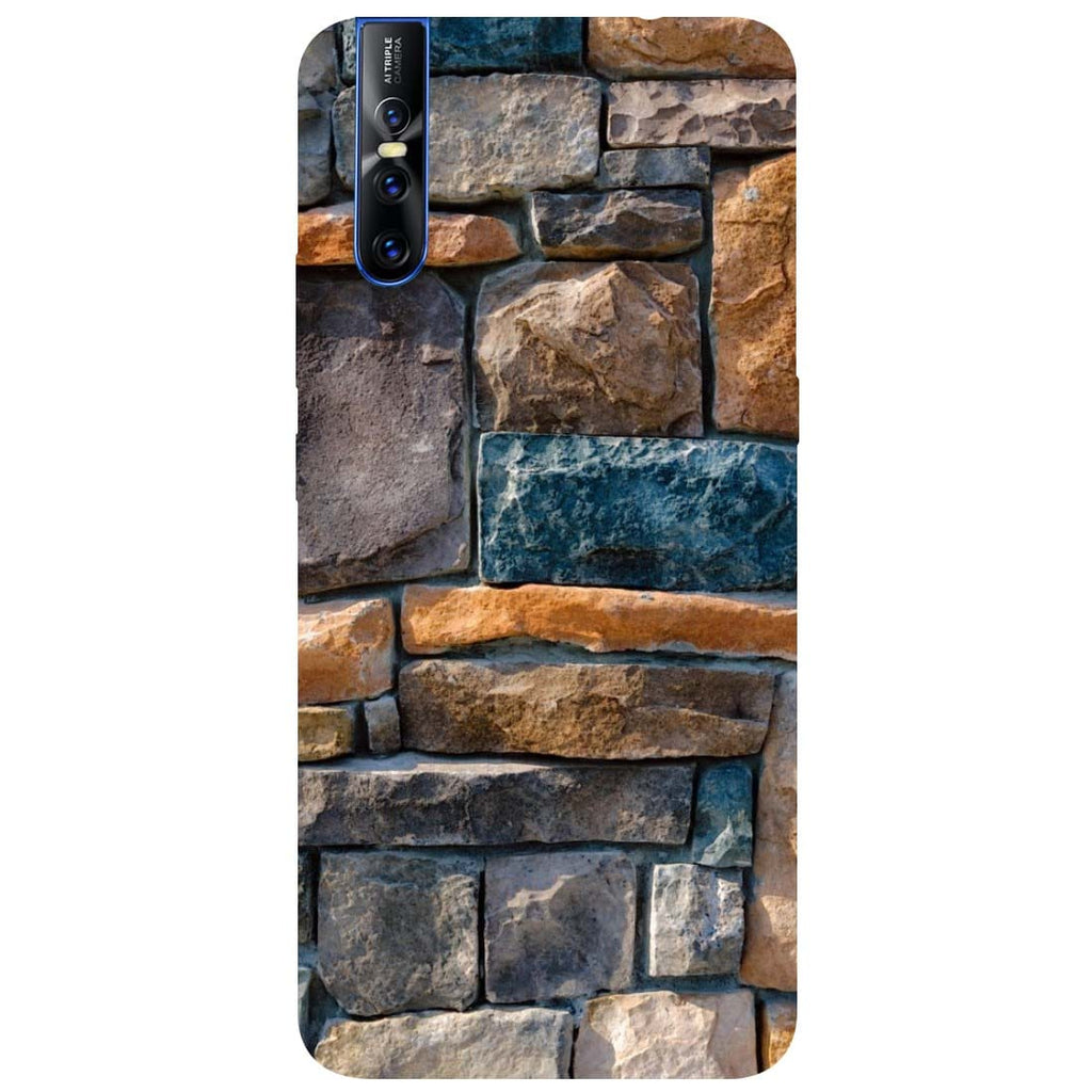 Bricks Vivo V15 Pro Back Cover-Hamee India