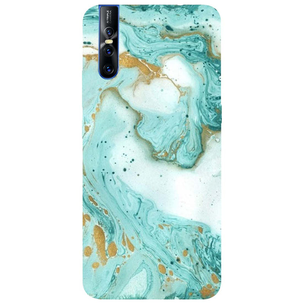 Marble Vivo V15 Pro Back Cover-Hamee India