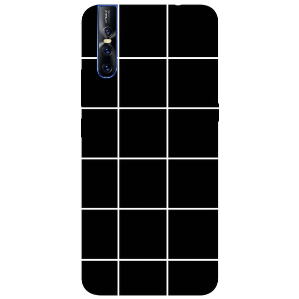 Checks Vivo V15 Pro Back Cover-Hamee India