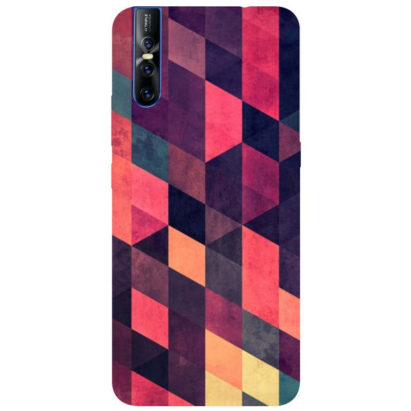 Pink Shades Vivo V15 Pro Back Cover-Hamee India